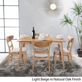 Idalia 5-piece Wood Rectangular Dining Set by Christopher Knight Home