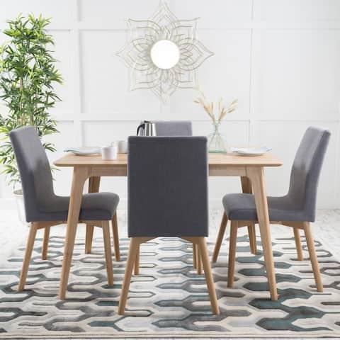 Kiana Mid-Century Modern 5 Piece Dining Set by Christopher Knight Home