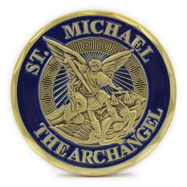St. Michael The Archangel Sailor Bronze Alloy Coin