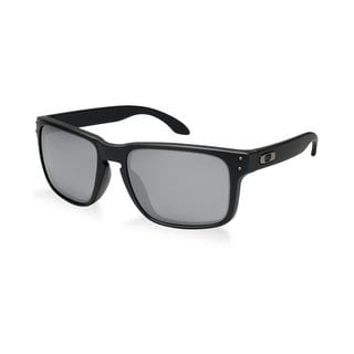 Oakley Men's Holbrook Matte Black Rectangular Sunglasses