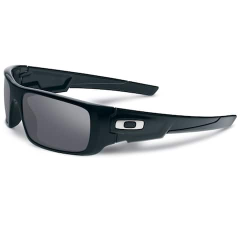 896f77103f Oakley Men s Crankshaft Sunglasses Black  Black Iridium 60mm