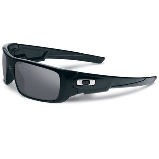 cool oakley sunglasses ulfg  Oakley Crankshaft OO9239-01 Men's Polished Black Frame Black Iridium Lens  Sunglasses