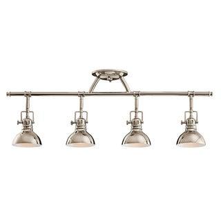 Link to Kichler Lighting Hatteras Bay Collection 4-light Polished Nickel Halogen Rail Light Similar Items in Track Lighting