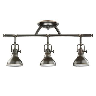 Kichler Lighting Hatteras Bay Collection 3-light Olde Bronze Halogen Rail Light