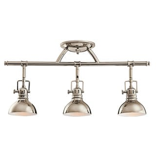 Link to Kichler Lighting Hatteras Bay Collection 3-light Polished Nickel Halogen Rail Light Similar Items in Track Lighting