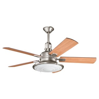 Kichler Lighting Kittery Point Collection 52-inch Antique Pewter Ceiling Fan