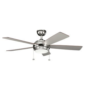 Kichler Lighting Starkk Collection 52-inch Polished Nickel Ceiling Fan
