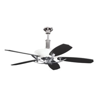Kichler Lighting Palla Collection 56-inch Midnight Chrome Ceiling Fan