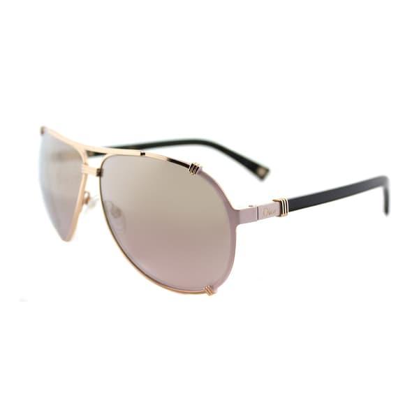 f4ad105121c Dior Dior Chicago 2 S HFB 0R Gold Pink Soft Black Metal Aviator Gold  Gradient