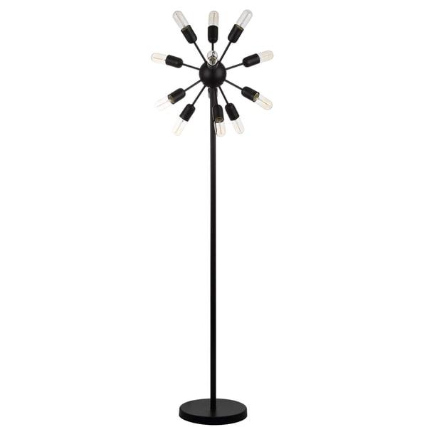 Safavieh Lighting 67.5-inch Urban 12-light Retro Edison Bulb Floor Lamp