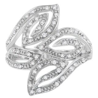 14K White Gold 0.25 ct. TDW Round Cut Diamond Ring (H-I,I1-I2)