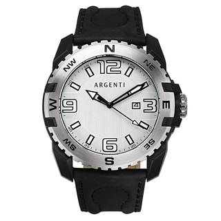 Argenti Paradigm Men's Watch 49mm Stainless Steel Case Multi-Textured Dial