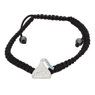 Hershey's Kisses Women's Swarovski Element Crystal Sterling Silver Bracelet