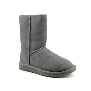 Ugg Australia Women's Classic Short Grey Regular Suede Boots