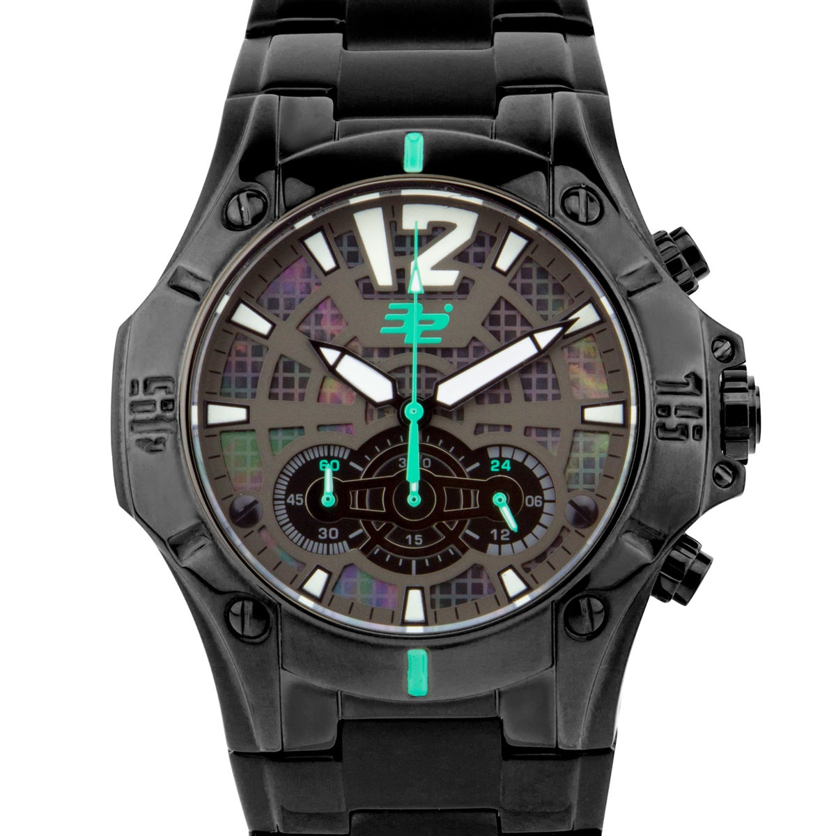 32 Degrees Frostbite, men's chronograph sport watch with ...