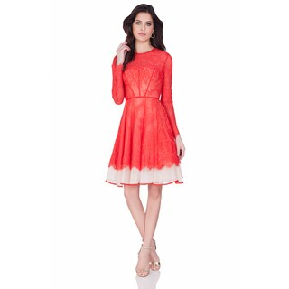 Terani Couture Women's Short Lace Cocktail Dress