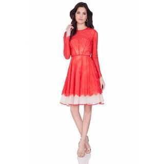 Terani Couture Women's Short Lace Cocktail Dress