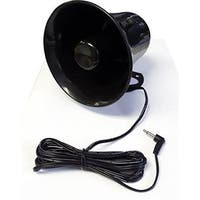 Pro Trucker 5-inch PA Horn Speaker for CB/Ham Radio With Plug and Wire