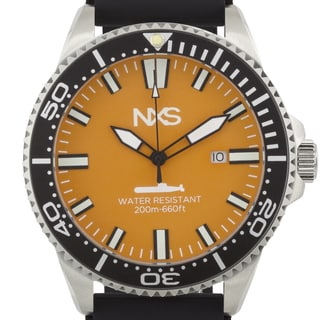 NXS Ocean Warrior Swiss Diver Men's Watch with Unidirectional Tachymeter Bezel