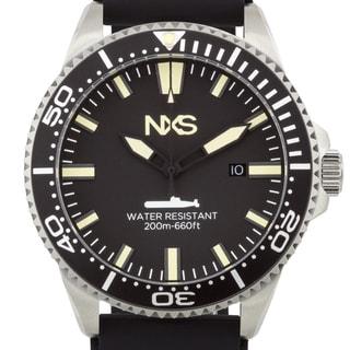 NXS Ocean Warrior Swiss Diver Men's Watch with Unidirectional Tachymeter Bezel
