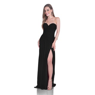 Terani Couture Strapless A-Line Sweetheart Gown