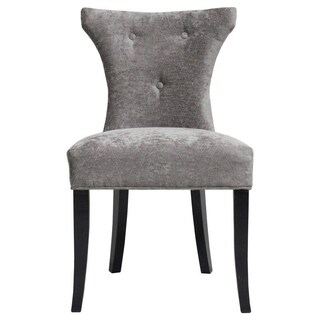 Cosmo Platinum Feather Chair (K.D) Set of 2