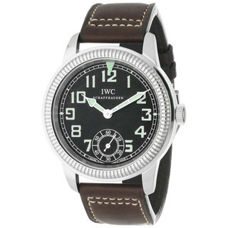 IWC Pilots IW325401 Men's Black Dial Watch
