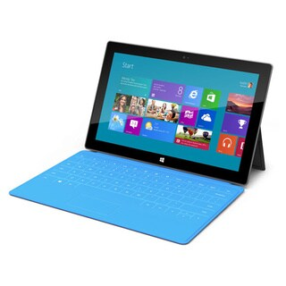 Microsoft Surface Pro 1 with Blue Keyboard Cover - Intel Core i5 4GB 128GB Windows 8 Pro (Surface Pen not included)