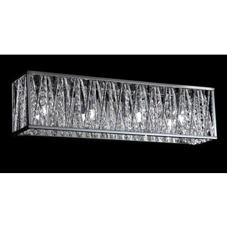 Avery Home Lighting 4 Light Vanity Silver Finish