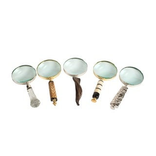 Privilege Metal Magnifying Glass Set (Pack of 5)