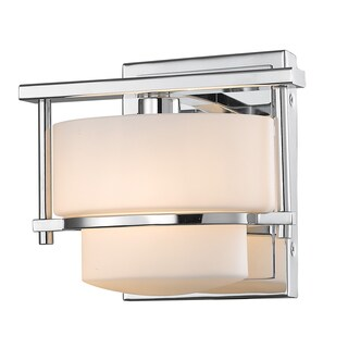 Avery Home Lighting 1 Light Wall Sconce Silver Finish