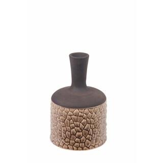 Privilege Brown Ceramic Vase