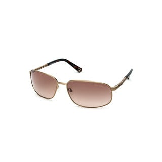 True Religion Riley Matte Gold Metal Unisex Sunglasses