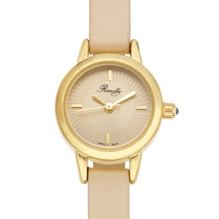 Romilly Jolliet Ladies Watch Genuine Leather Strap