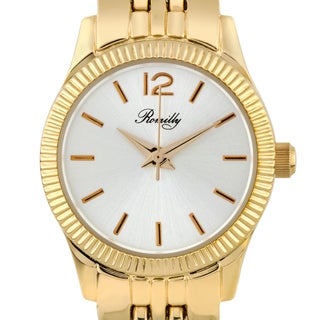 Romilly Bancroft ladies' watch, fluted bezel, multi-link bracelet