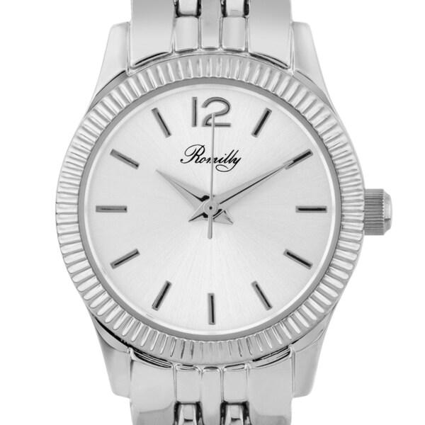 Romilly Bancroft ladies' watch, fluted bezel, multi-link bracelet