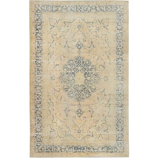 ecarpetgallery Hand-Knotted Anatolian Sunwash Ivory Wool Rug (6'11 x 11'1)