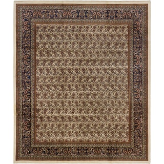 ecarpetgallery Hand-Knotted Royal Sarough Blue Wool Rug (8'3 x 9'9)