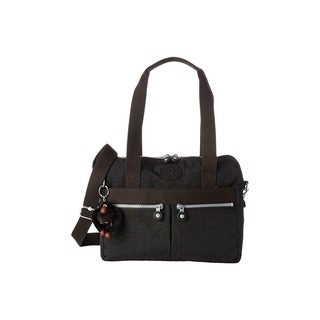Kipling Klara Black Nylon Crossbody Handbag