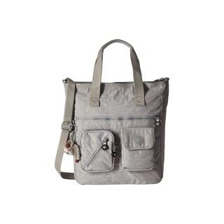 Kipling Johanna Slate Grey Nylon Tote Handbag