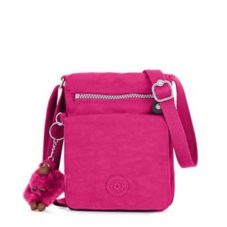 Kipling El Dorado Very Berry Pink Nylon Shoulder Bag
