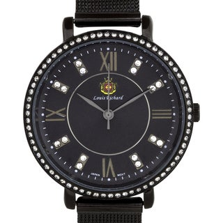 Louis Richard Roslin Ladies Watch Multi-Layered Textured Dial