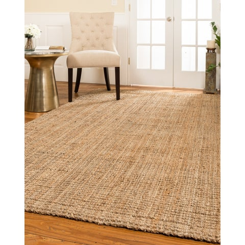 Natural Area Rugs Hand-loomed Calvin Jute Rug (8' x 10') - 8' x 10'