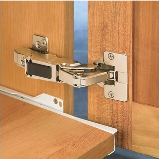 Blum Nickel-plated 155-degree Clip-top No-protusion Self-closing Screw-on Hinge