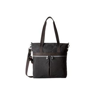 Kipling Pammie Black Nylon Tote Handbag
