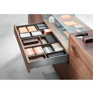 Legrabox Orion Gray 20-inch Blumotion M 88-pound Standard Drawer Kit