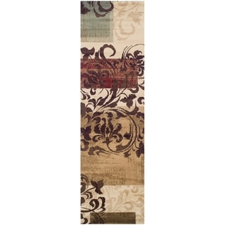 Superior Modern Storyville Scroll Area Rug Collection (2'7 x 8')