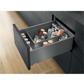 Blum Legrabox Orion Gray C 21-5/8-inch Standard Drawer Kit