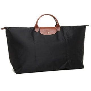 7fa3dbe0dd5 Shop Longchamp Le Pliage Black Nylon Extra-large Travel Bag - Free Shipping  Today - Overstock.com - 13446374