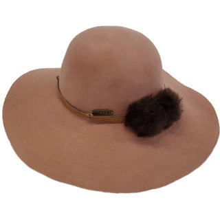 Hatch Hats Elite Tan 100-percent Wool/Felt Packable Wide Brim Floppy Hat